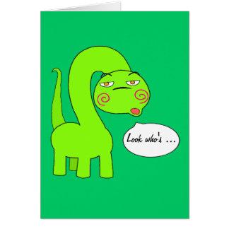 Pimp Dino Card