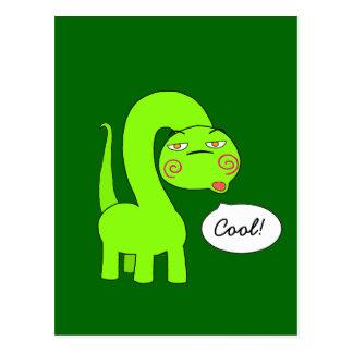 Pimp Dino Postcard