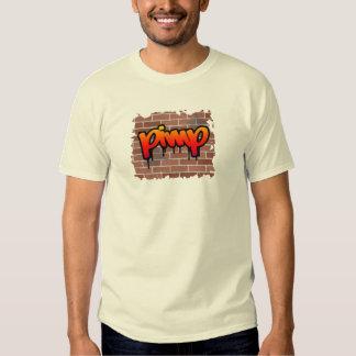 pimp graffiti  design tshirt