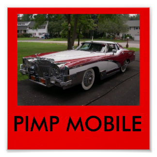 PIMP MOBILE POSTER