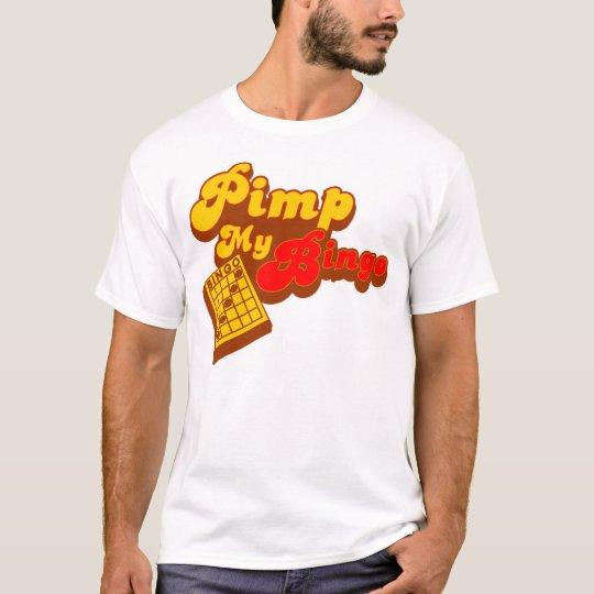 Pimp my Bingo retro style shirt