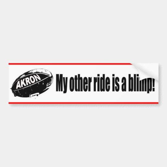 Pimp my Blimp Bumper Sticker