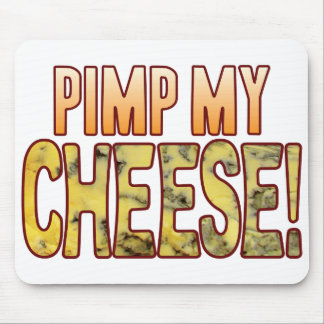Pimp My Blue Cheese Mouse Pad