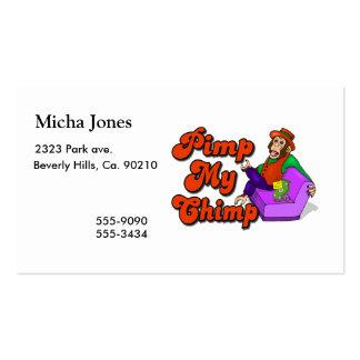 Pimp My Chimp Business Card