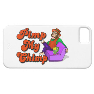 Pimp My Chimp iPhone 5 Covers