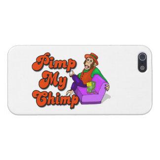 Pimp My Chimp iPhone 5 Case