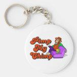 Pimp My Chimp Keychain