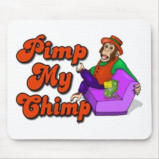 Pimp My Chimp Mouse Pad