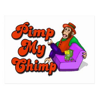 Pimp My Chimp Postcards