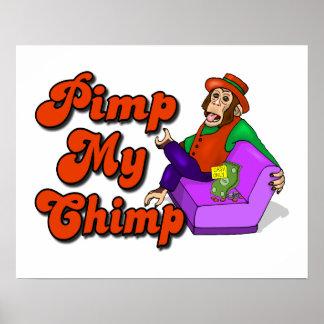 Pimp My Chimp Poster