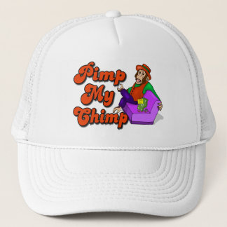 Pimp My Chimp Trucker Hat