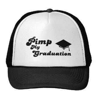 pimp my graduation trucker hats