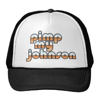 Pimp My Johnson Trucker Hats