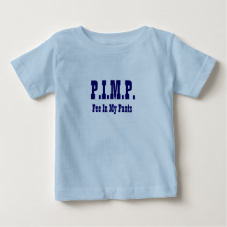 PIMP (Pee In My Pants) New Baby Shirt 8 Frontier