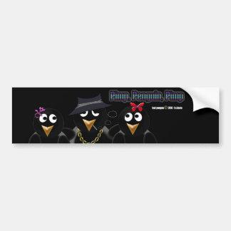 Pimp Penguin Pimp Bumper Stickers