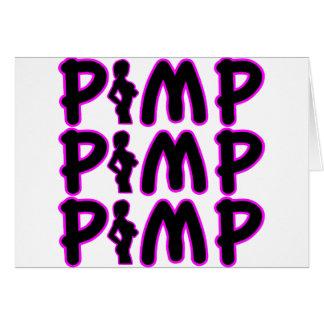 Pimp Pimp Pimp Greeting Cards