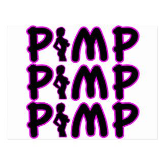 Pimp Pimp Pimp Postcard