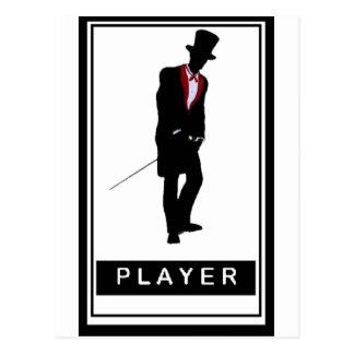 Pimp Player Postcard