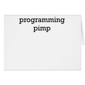 pimp.png programado tarjeta de felicitación