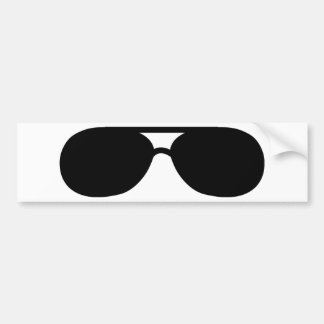 pimp sunglasses shades bumper sticker