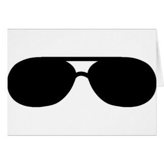 pimp sunglasses shades greeting cards