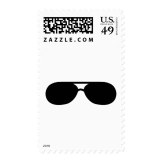 pimp sunglasses shades postage stamp