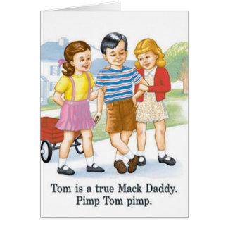 Pimp Tom Pimp Card