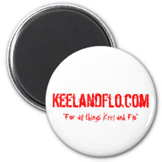 Pimp your fridge with Keel and Flo Refrigerator Magnet