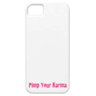 Pimp Your Karma I-Phone funda Funda Para iPhone 5 Barely There