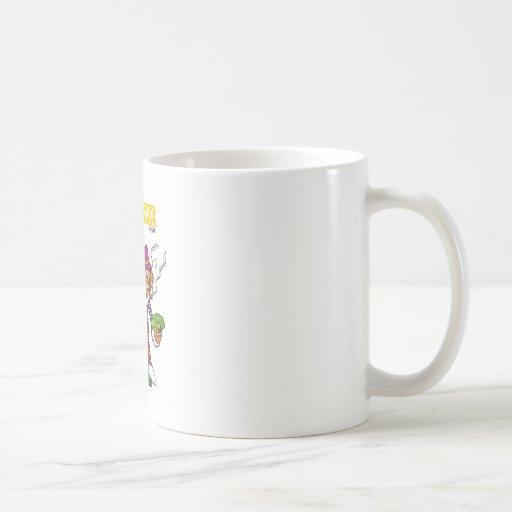 Pimpanzee large coffee mug