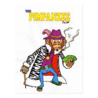 Pimpanzee large post card