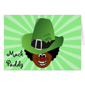 Pimped Out St. Patrick's Day Leprechaun Card