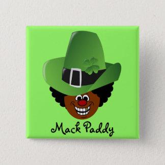 Pimped Out St. Patrick's Day Leprechaun Pinback Button