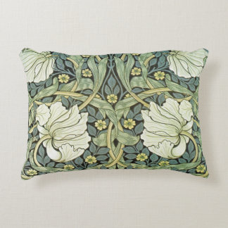 Pimpernel by William Morris Decorative Pillow