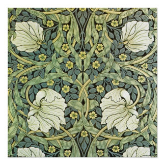 Pimpernel by William Morris Poster