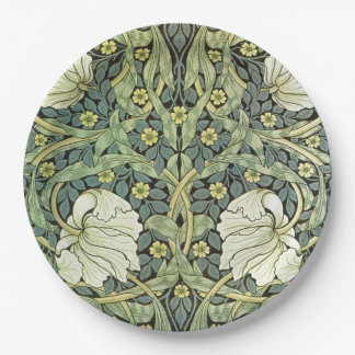 Pimpernel by William Morris 9 Inch Paper Plate