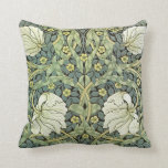 Pimpernel by William Morris Throw Pillows