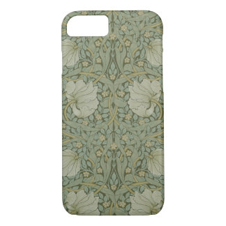 Pimpernel by William Morris Vintage Floral Textile iPhone 8/7 Case
