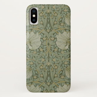 Pimpernel by William Morris Vintage Floral Textile iPhone X Case