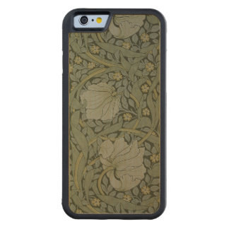 'Pimpernel' wallpaper design, 1876 2 Carved Maple iPhone 6 Bumper Case