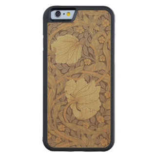 'Pimpernel' wallpaper design, 1876 Carved Maple iPhone 6 Bumper Case