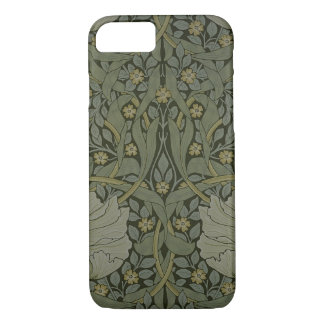 'Pimpernel' wallpaper design, 1876 iPhone 8/7 Case