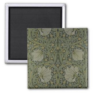 'Pimpernel' wallpaper design, 1876 2 Inch Square Magnet