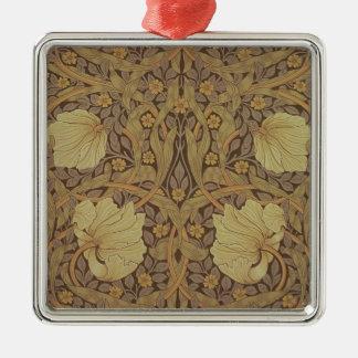 'Pimpernel' wallpaper design, 1876 Metal Ornament