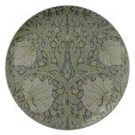 'Pimpernel' wallpaper design, 1876 Plate
