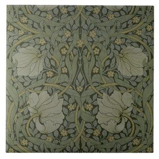 'Pimpernel' wallpaper design, 1876 Tile