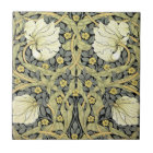 Pimpernel Yellow Green Floral Pattern Vintage Tile