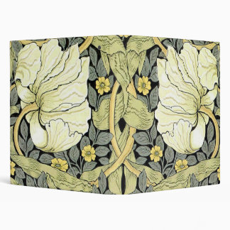 Pimpernel Yellow Green Floral Pattern Vintage Wall 3 Ring Binder