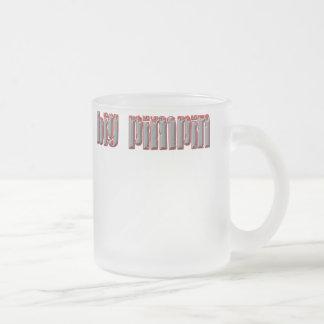 Pimpin3 Frosted Glass Coffee Mug