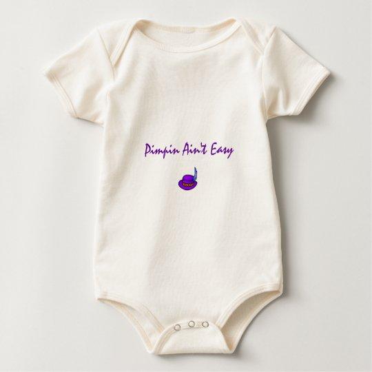 Pimpin Ain't Easy Baby Bodysuit